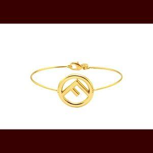 Fendi gold bracelet